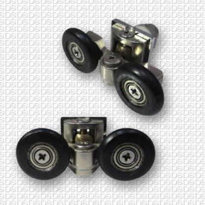 Douchedeur-ondergeleider-type-904-zwart